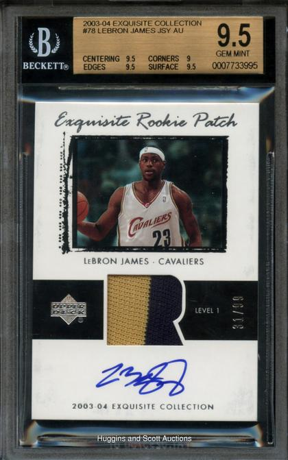 2003 Upper Deck LeBron James Ultimate Collection Rookie ...